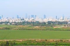 Τελ Αβίβ από το πάρκο του Ariel Sharon Στοκ φωτογραφίες με δικαίωμα ελεύθερης χρήσης