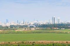 Τελ Αβίβ από το πάρκο του Ariel Sharon Στοκ Εικόνες