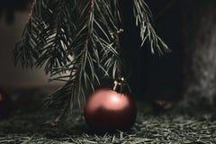 Τελείωμα Χριστουγέννων Στοκ φωτογραφία με δικαίωμα ελεύθερης χρήσης