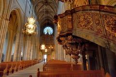 1270 τελειωμένη αρχισμένη εργασία της Ουψάλα 1435 καθεδρικών ναών κατασκευή Στοκ εικόνες με δικαίωμα ελεύθερης χρήσης