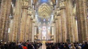 Τελετή στην εκκλησία της Ιταλίας Στοκ Εικόνες