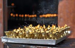 Τελετουργικά κεριά στοκ εικόνες