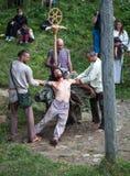 Τελετουργική δολοφονία στοκ εικόνες με δικαίωμα ελεύθερης χρήσης