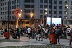 Τελευταία ημέρα των παιχνιδιών Paralympic στο Ρίο ντε Τζανέιρο Στοκ φωτογραφίες με δικαίωμα ελεύθερης χρήσης