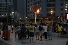 Τελευταία ημέρα των παιχνιδιών Paralympic στο Ρίο ντε Τζανέιρο Στοκ Φωτογραφία