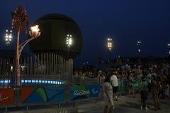 Τελευταία ημέρα των παιχνιδιών Paralympic στο Ρίο ντε Τζανέιρο Στοκ Εικόνες