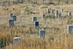Τελευταίος τάφος στάσεων Custer Στοκ Φωτογραφίες