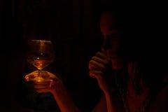 Τελευταίο ποτό Στοκ φωτογραφία με δικαίωμα ελεύθερης χρήσης