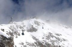 Τελεφερίκ παγετώνων Zugspitze Στοκ εικόνες με δικαίωμα ελεύθερης χρήσης