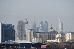 Τελεφερίκ του Λονδίνου στοκ φωτογραφίες με δικαίωμα ελεύθερης χρήσης