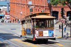 Τελεφερίκ του Σαν Φρανσίσκο Στοκ εικόνες με δικαίωμα ελεύθερης χρήσης