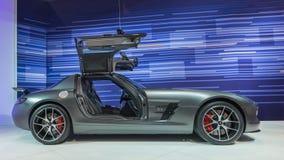 2014 τελική έκδοση της Mercedes SLS AMG GT Στοκ Φωτογραφίες