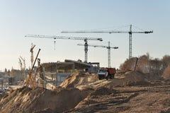 Τελική κατασκευή αερολιμένων Στοκ φωτογραφία με δικαίωμα ελεύθερης χρήσης