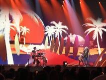Τελικό Eurovision 2017 στο στάδιο του διεθνούς Exhib Στοκ φωτογραφία με δικαίωμα ελεύθερης χρήσης
