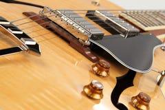 τζαζ κιθάρων Στοκ Εικόνα