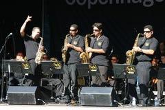 τζαζ φεστιβάλ της Κοπεγχάγης Στοκ φωτογραφία με δικαίωμα ελεύθερης χρήσης