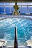 Τζακούζι κρουαζιερόπλοιων Στοκ Φωτογραφίες