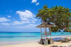 Τζαμαϊκανή παραλία Α Στοκ Φωτογραφία