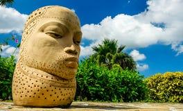 Τζαμαϊκανός το τέχνη-κεφάλι στοκ εικόνες