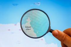Τζιμπουτί, Τζιμπουτί Πολιτικός χάρτης στοκ εικόνα με δικαίωμα ελεύθερης χρήσης