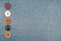 τζιν κουμπιών Στοκ Εικόνα