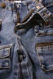 τζιν παντελόνι Στοκ εικόνες με δικαίωμα ελεύθερης χρήσης