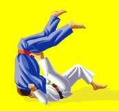 τζούντο Στοκ εικόνες με δικαίωμα ελεύθερης χρήσης