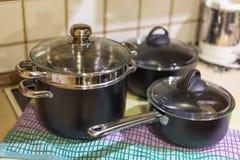 Τηγάνια κουζινών Στοκ Φωτογραφία
