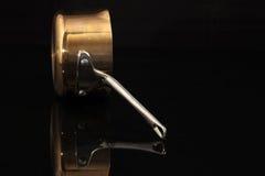 Τηγάνι χαλκού Στοκ εικόνα με δικαίωμα ελεύθερης χρήσης
