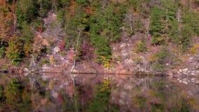 Τηγάνι Lakeshore βουνών απόθεμα βίντεο