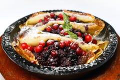 τηγανίτες μούρων Στοκ Εικόνες