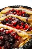 τηγανίτες μούρων Στοκ φωτογραφίες με δικαίωμα ελεύθερης χρήσης