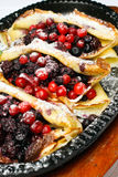 τηγανίτες μούρων Στοκ φωτογραφία με δικαίωμα ελεύθερης χρήσης