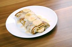 τηγανίτες που γεμίζοντα&io στοκ φωτογραφία με δικαίωμα ελεύθερης χρήσης