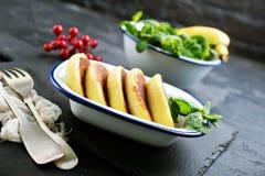 Τηγανίτες τυριών στοκ εικόνα με δικαίωμα ελεύθερης χρήσης