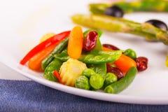 Τηγανισμένα λαχανικά Στοκ Εικόνες