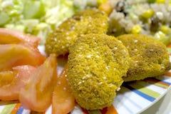 τηγανισμένα κοτόπουλο κ&om Στοκ εικόνα με δικαίωμα ελεύθερης χρήσης