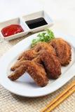 τηγανισμένα κοτόπουλο φτ στοκ φωτογραφία με δικαίωμα ελεύθερης χρήσης