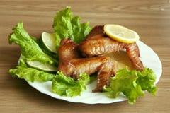 τηγανισμένα κοτόπουλο φτ Στοκ φωτογραφίες με δικαίωμα ελεύθερης χρήσης
