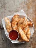 τηγανισμένα κοτόπουλο ψή&gam Στοκ Εικόνα