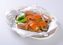 Τηγανισμένα τρόφιμα της Μαλαισίας ψαριών Στοκ Φωτογραφίες