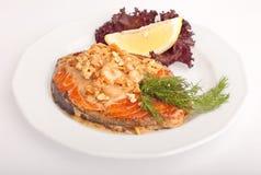 Τηγανισμένα ψάρια Στοκ Φωτογραφίες