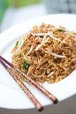 τηγανισμένα choi noodles Ασιάτης μωρώ&n Στοκ εικόνα με δικαίωμα ελεύθερης χρήσης