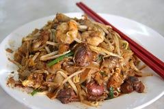τηγανισμένα noodles πικάντικα Στοκ Εικόνα
