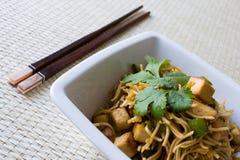 τηγανισμένα noodles στοκ φωτογραφία