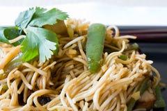 τηγανισμένα noodles στοκ εικόνα με δικαίωμα ελεύθερης χρήσης