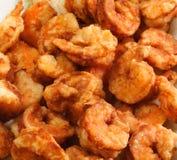 τηγανισμένες γαρίδες Στοκ Φωτογραφίες