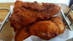 τηγανισμένες κοτόπουλο Στοκ φωτογραφία με δικαίωμα ελεύθερης χρήσης