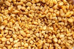 Τηγανισμένες νιφάδες σκόρδου στοκ φωτογραφίες με δικαίωμα ελεύθερης χρήσης