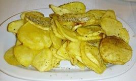 τηγανισμένες πατάτες Στοκ εικόνες με δικαίωμα ελεύθερης χρήσης